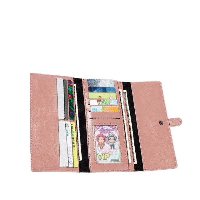 Buckle Flap Wallet