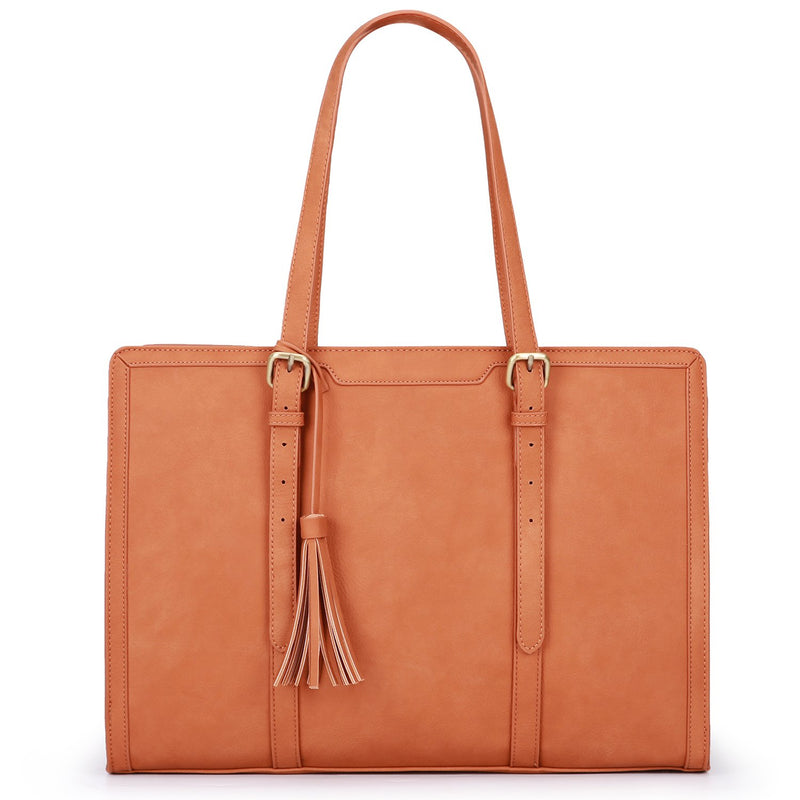 9 to 9 Tassel Tote - Coral (Limited Edition)