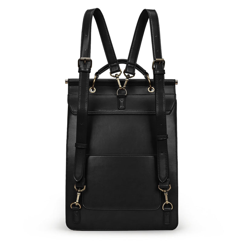 Ring Flap Boutique Backpack - Black (Limited Edition)
