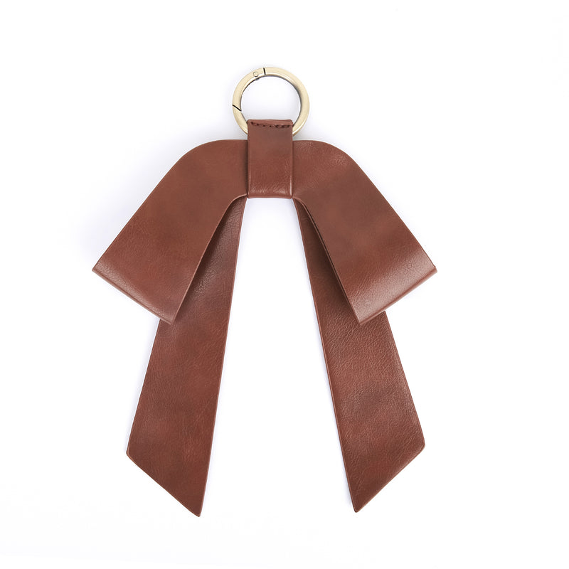Detachable Leather Bow