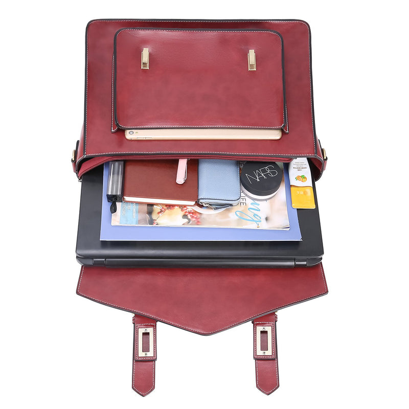 Retro Flap Boutique Messenger Bag - Red (Limited Edition)