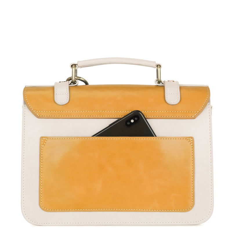 Vintage Bow Boutique Messenger Bag - Yellow (Limited Edition)