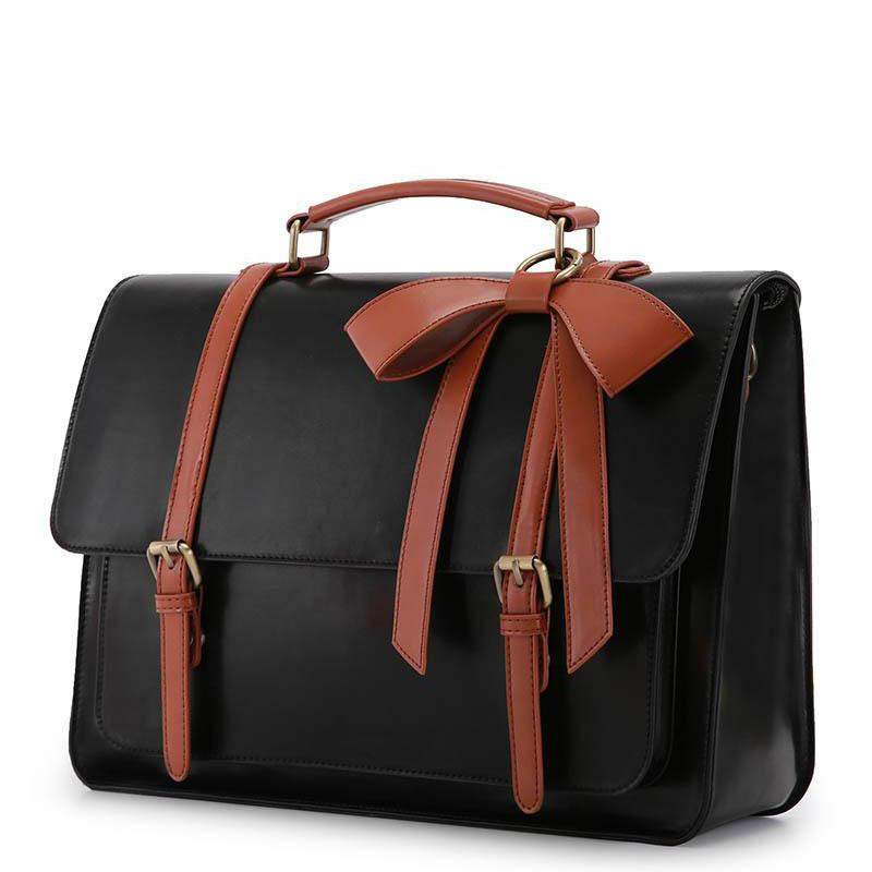 Classic Bow Boutique Messenger Bag