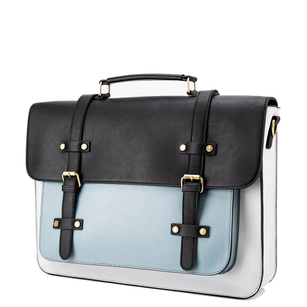Vintage Flap Boutique Messenger Bag - Blue (Limited Edition)