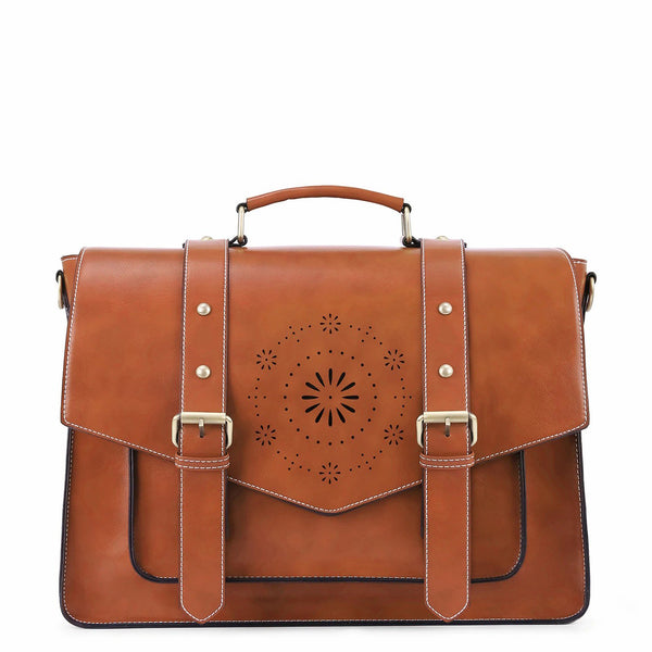 Retro Flap Boutique Messenger Bag - Brown (Limited Edition)