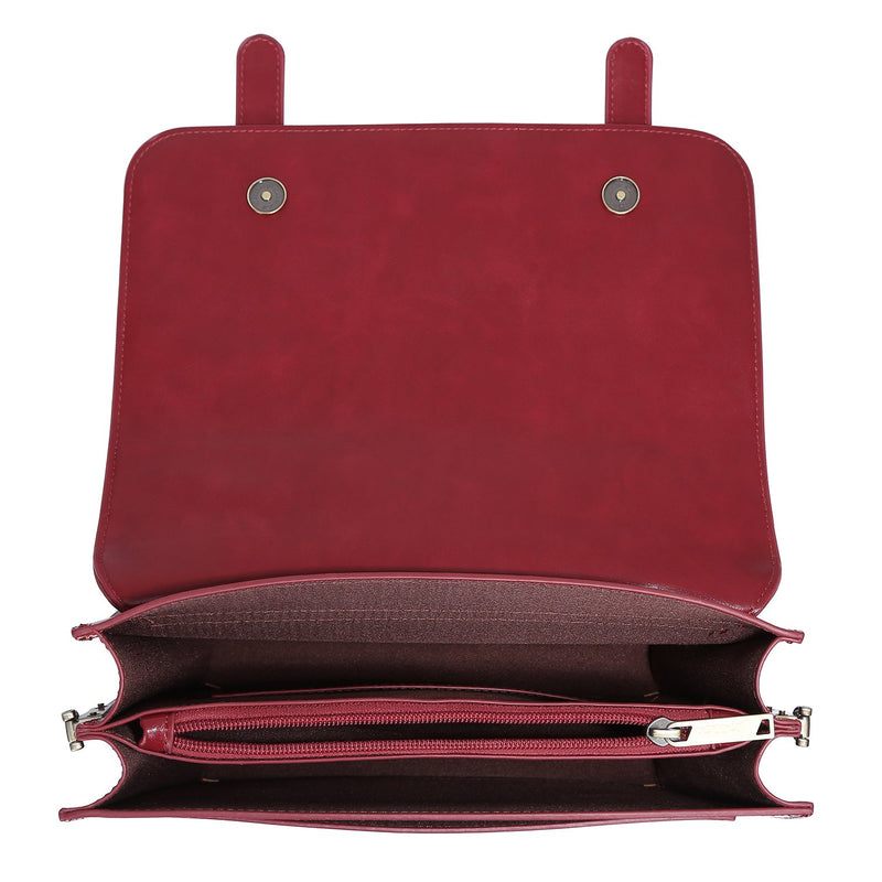 Vintage Bow Boutique Messenger Bag - Red (Limited Edition)