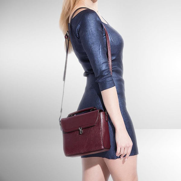 The Merlot Crossbody Bag