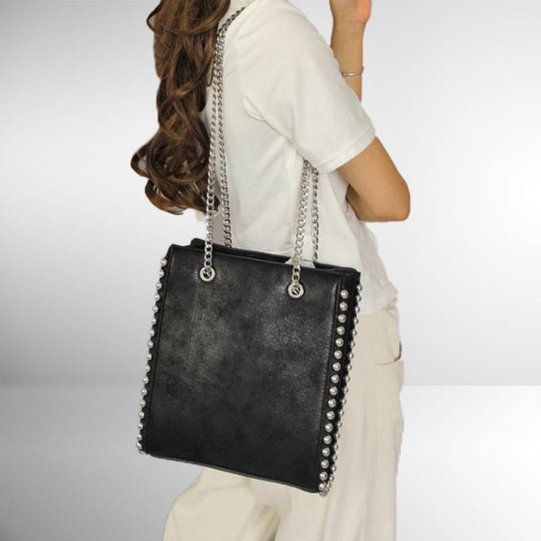 Chain Bead Shoulder Bag