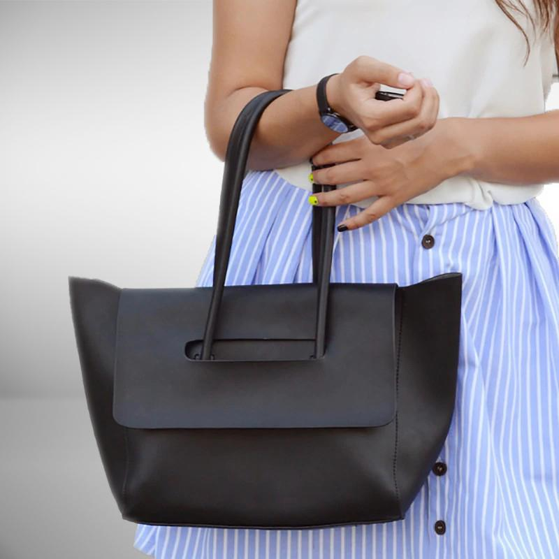 Hollow Flap Tote