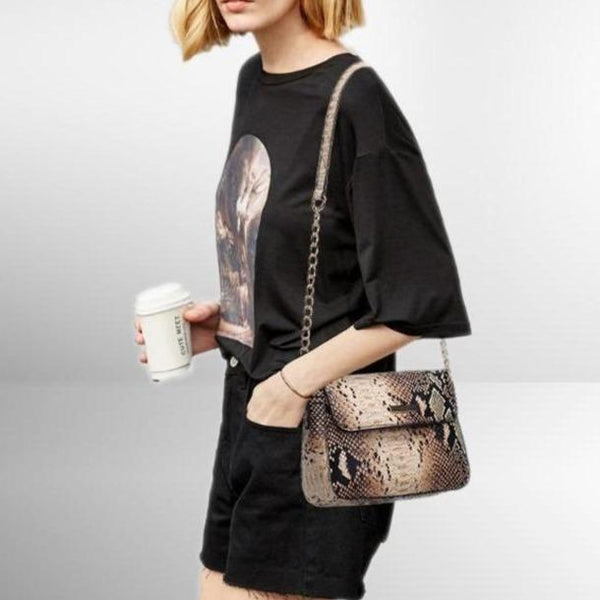 Mardi Snake Shoulder Bag