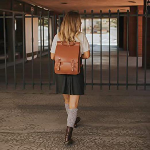 Ring Flap Boutique Backpack - Brown (Limited Edition)
