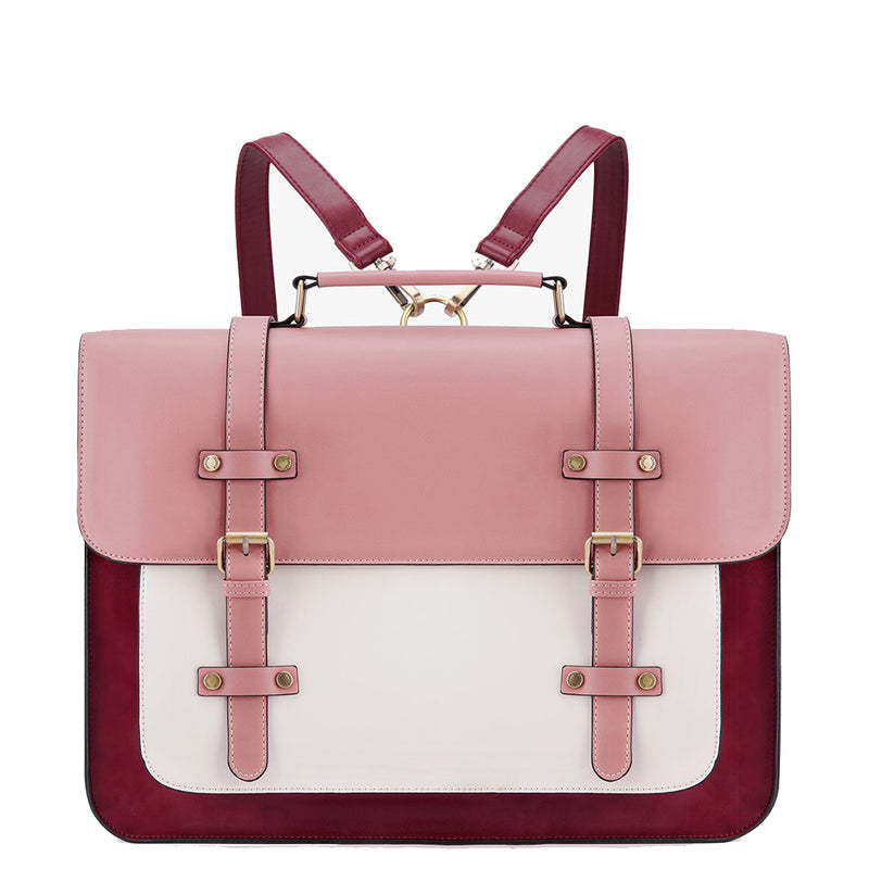 Vintage Flap Boutique Messenger Bag - Pink (Limited Edition)