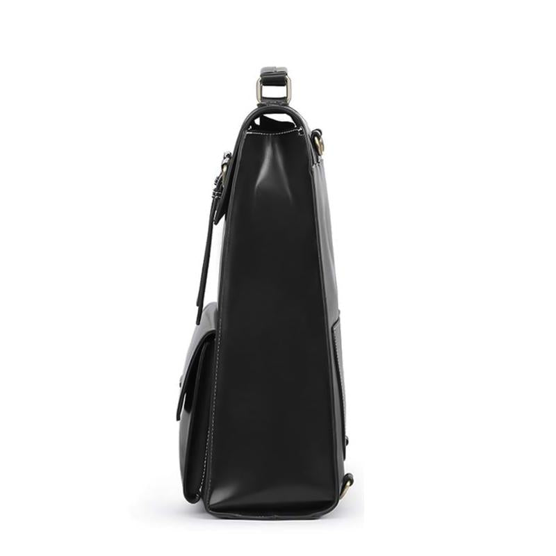 Threaded Flap Boutique Backpack - Black (Limited Edition)