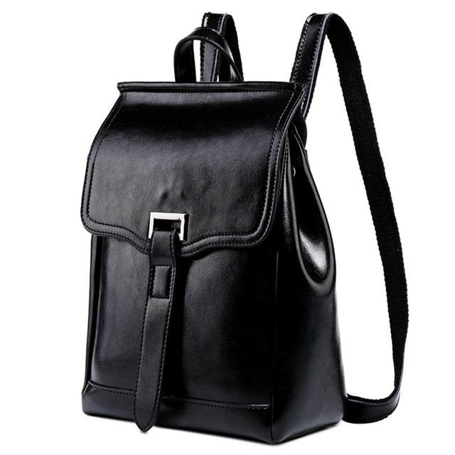 Buckle Flap Vintage Backpack