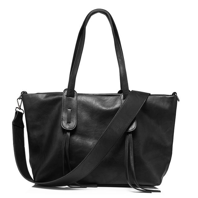 Classic Soft Leather Tote