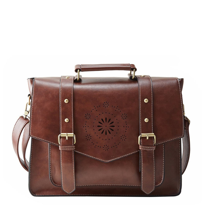 Mini Retro Flap Boutique Messenger Bag - Coffee (Limited Edition)