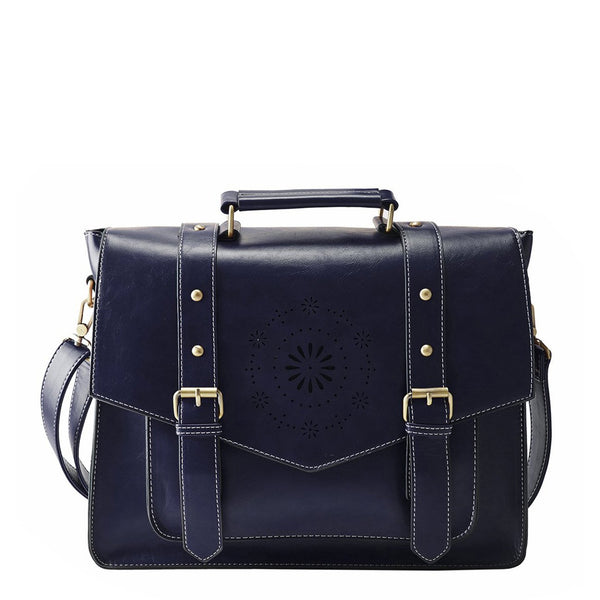 Mini Retro Flap Boutique Messenger Bag - Blue (Limited Edition)