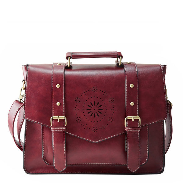 Mini Retro Flap Boutique Messenger Bag - Red (Limited Edition)