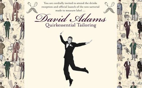 Quintessential Tailoring with David Adams