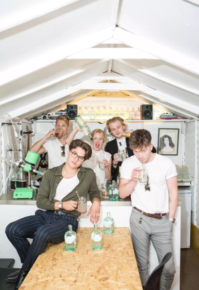 G&Ts with The Vamps at Butler's Gin Distillery in London