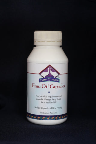 Emu Oil Capsules (100*1000mg)
