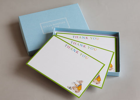 Mr Mouse Thank You Cards And Envelopes