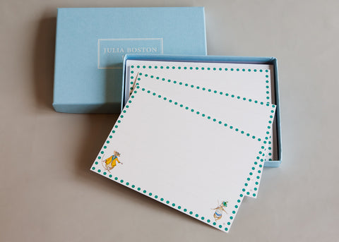 Mr & Mrs Mouse Cards And Envelopes