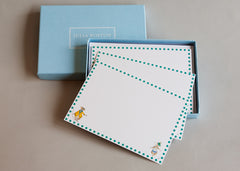 Set of 10 cards and envelopes for children to write on. 'Mr & Mrs Mouse Correspondence Card'