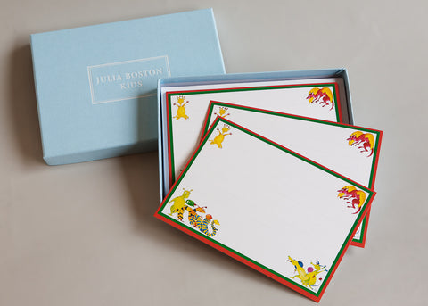 Jolly Monsters Cards And Envelopes