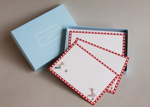 Footballing Mice Cards And Envelopes
