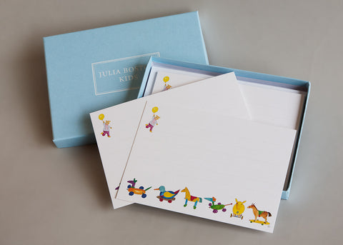 Toys on Wheels Cards And Envelopes