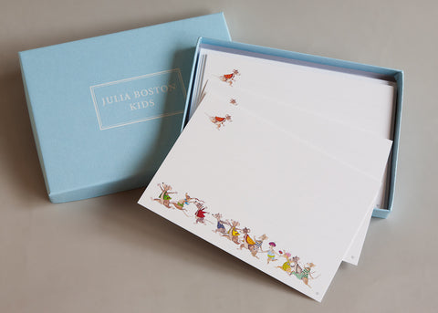 Running Mice  Cards And Envelopes