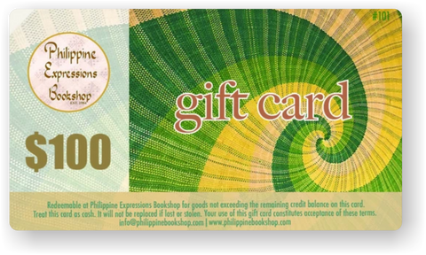Philippine Expressions Bookshop $100 Gift Card