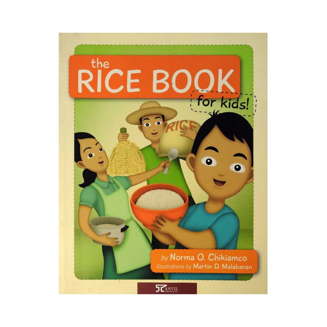 The Rice Book - Philippine Expressions Bookshop