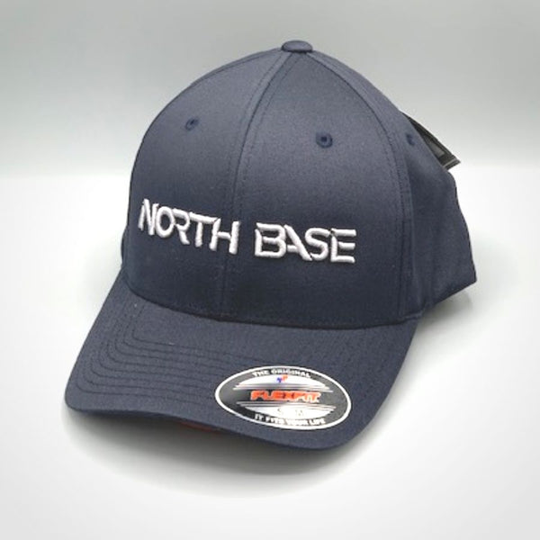 Northbase Baseball Cap - Navy Blue with Silver Logo