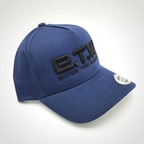 The Prototypes E.T.W Black on Blue Baseball Cap