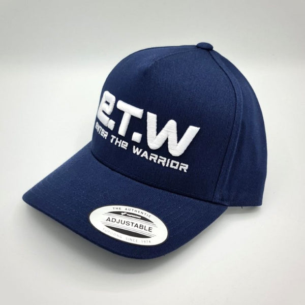 The Prototypes E.T.W White on Blue Baseball Cap