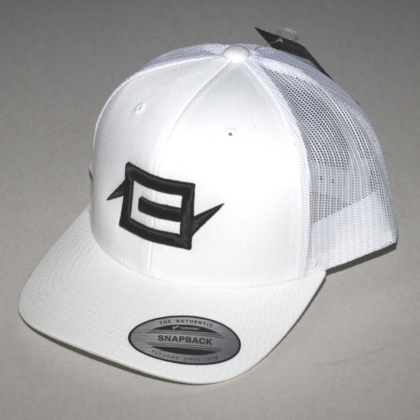 Charge Recordings Black on White Trucker