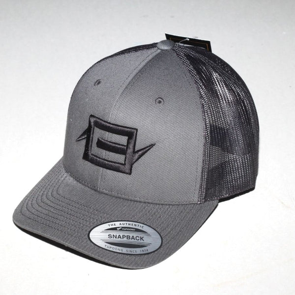 Charge Recordings Black on Grey Trucker