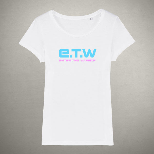 The Prototypes - E.T.W Logo Tee - Ladies - White