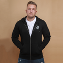Nicky Black Hoodie with Zipper