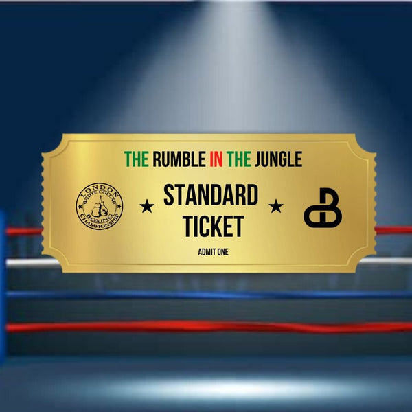 The Rumble in The Jungle - Standard Ticket - Early Bird