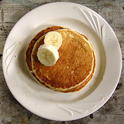 Banana & Sweet Potato Pancakes
