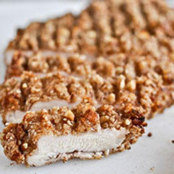 Nut-Crusted Chicken Breast