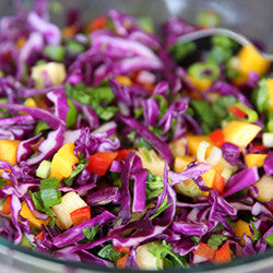 1/2 Pan or Full Pan of Pineapple Slaw
