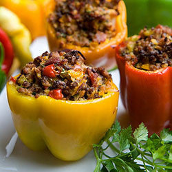 Stuffed Peppers (Product is Not Paleo/Contains quinoa)
