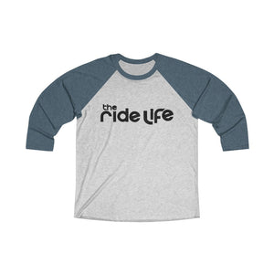The Ride Life Title Logo 3/4 Sleeve