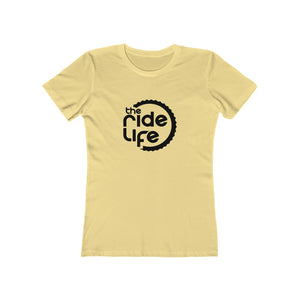 The Ride Life Wheel Logo T-Shirt