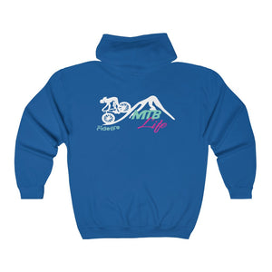 MTB Life Full Zip Hooded Sweatshirt
