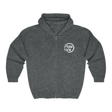 Load image into Gallery viewer, Smile For The Miles Full Zip Hooded Sweatshirt